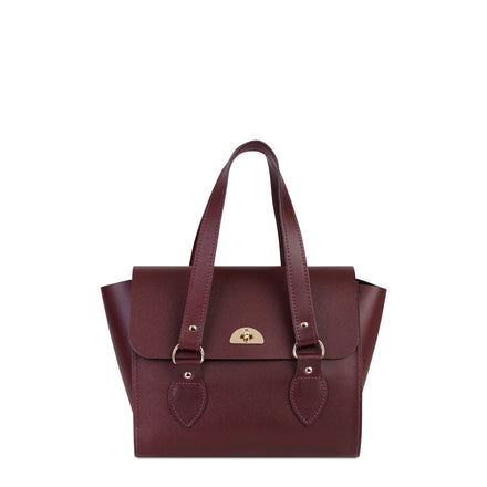 Oxblood The Cambridge Satchel Company Women's Leather Handbag