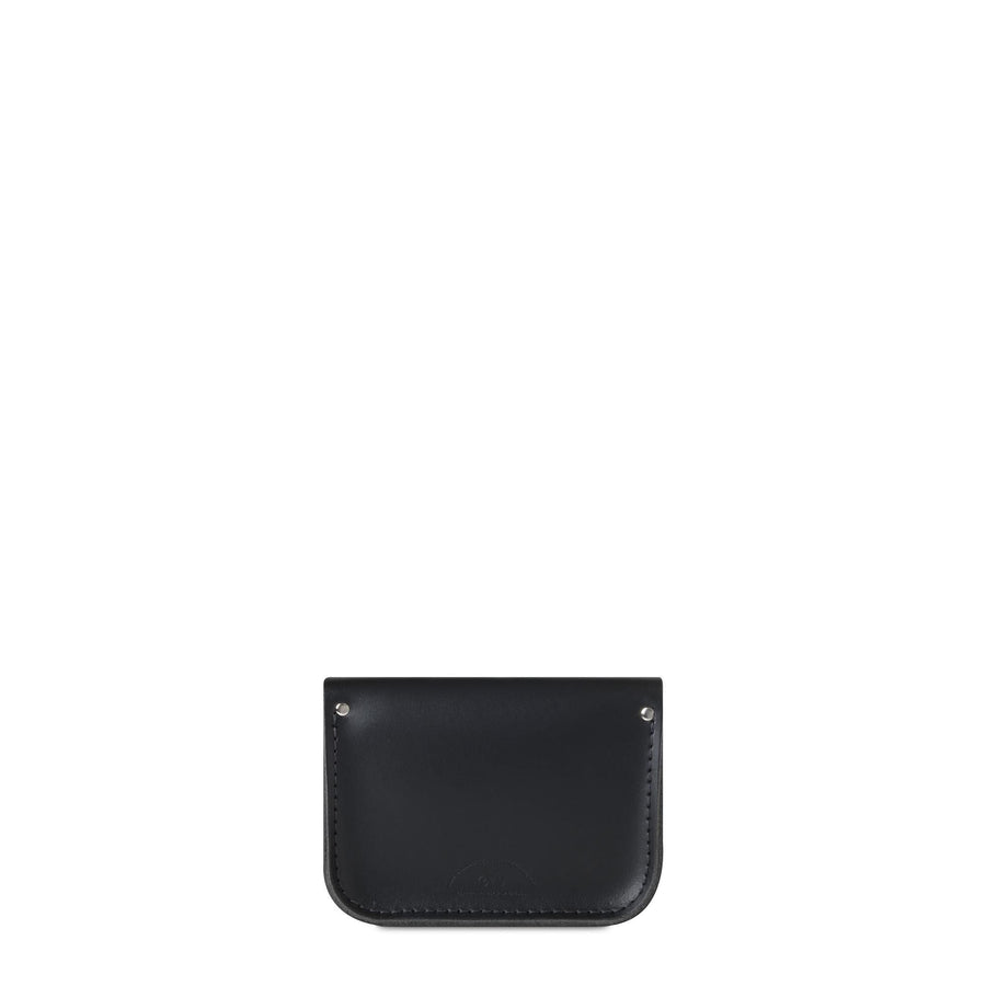 Black Leather Tiny Cambridge Satchel Cross Body Bag