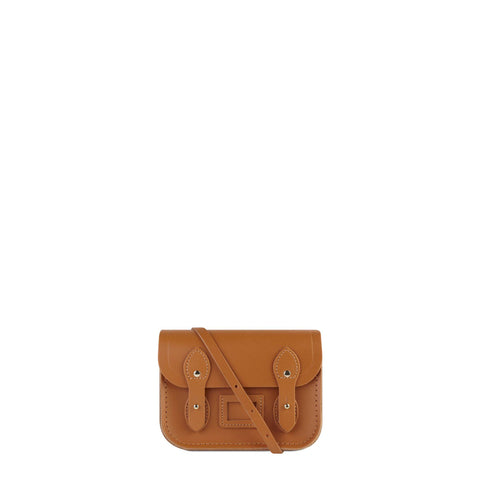 Tiny Satchel in Leather - Canyon