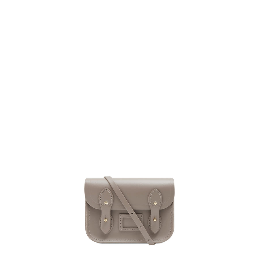 Tiny Satchel in Leather - Mink