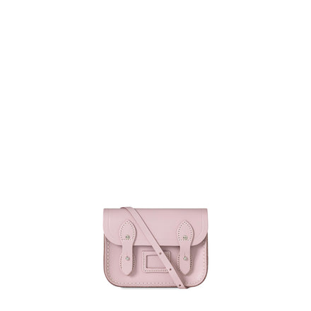 Tiny Satchel in Leather - Dusky Rose - Cambridge Satchel