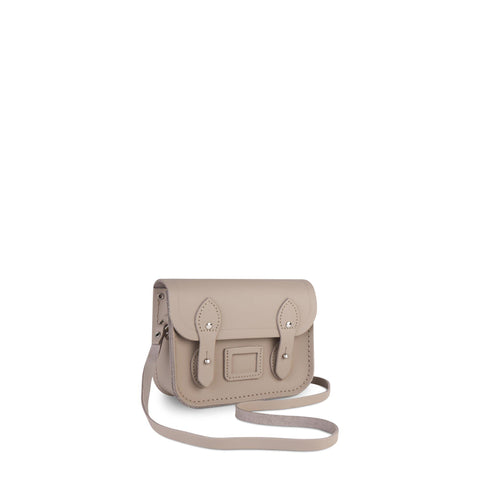 Tiny Satchel in Leather - Dusk Matte
