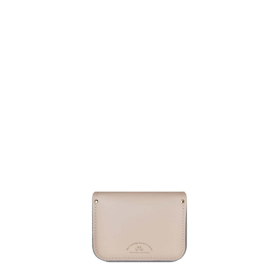 Tiny Satchel in Leather - Cloud Pink Matte | Cambridge Satchel