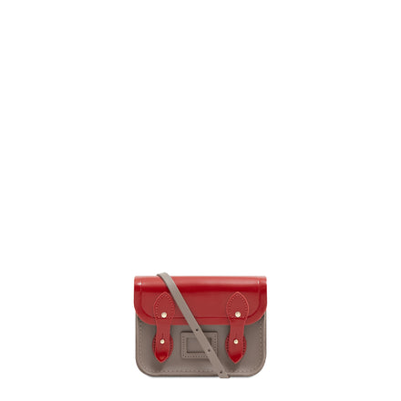 Tiny Satchel in Leather - Glamour & Mink