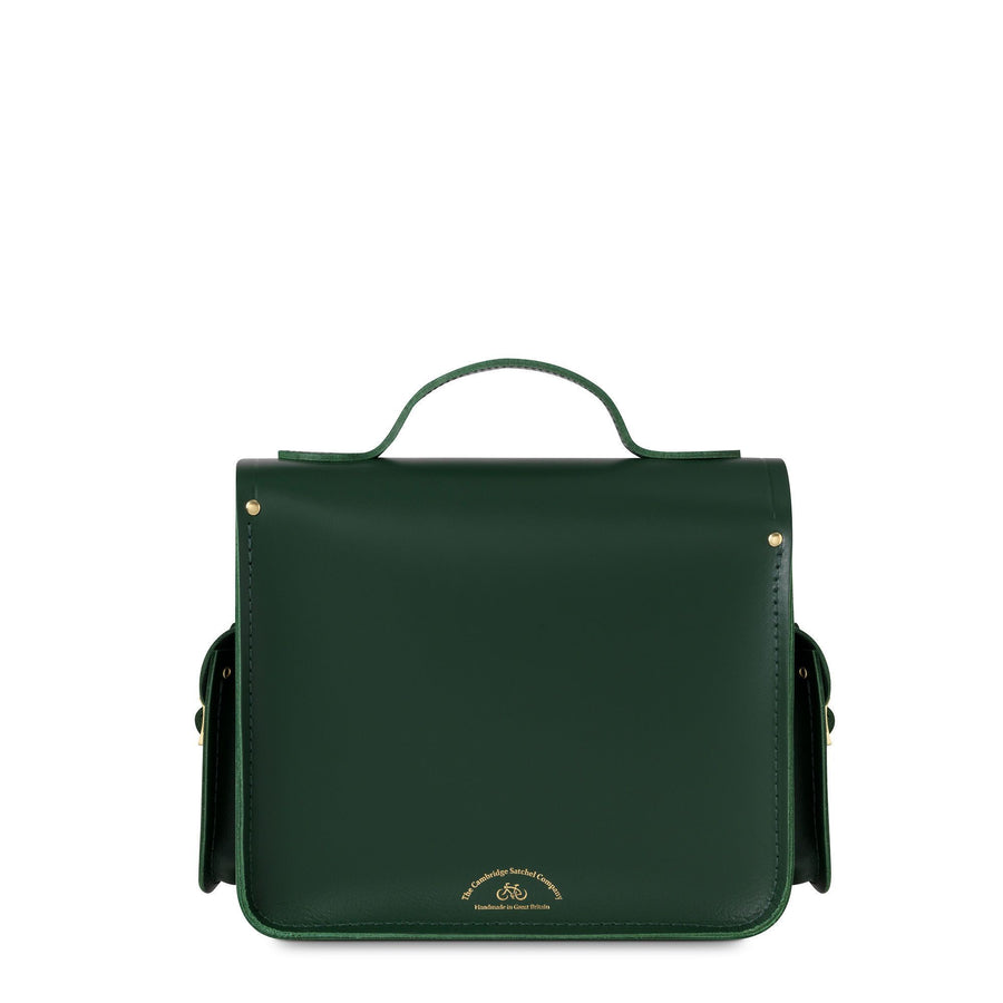 Green Cambridge Satchel Leather Large Traveller Bag