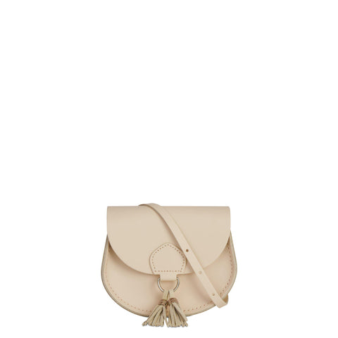 Mini Tassel Bag in Leather - Sunkissed Split & Sunkissed Suede
