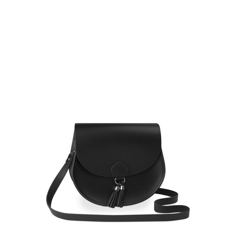 Tassel Bag in Leather - Black
