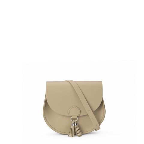 Tassel Bag in Leather - Putty