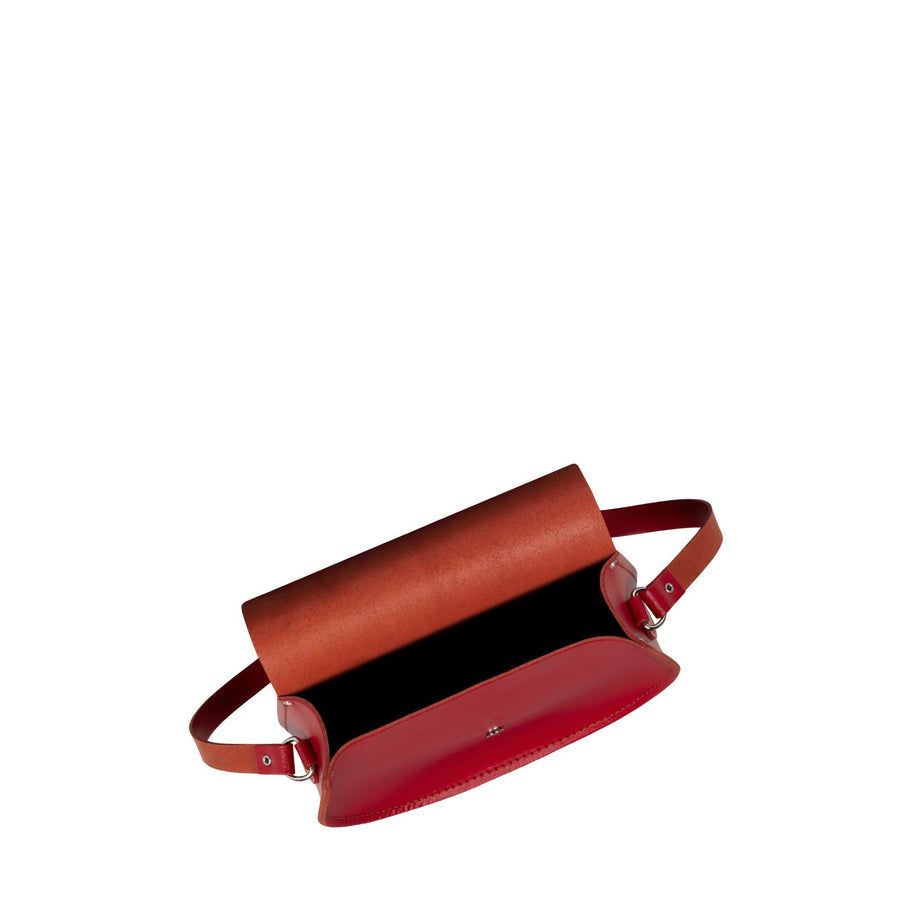 Tassel Bag in Leather - Crimson