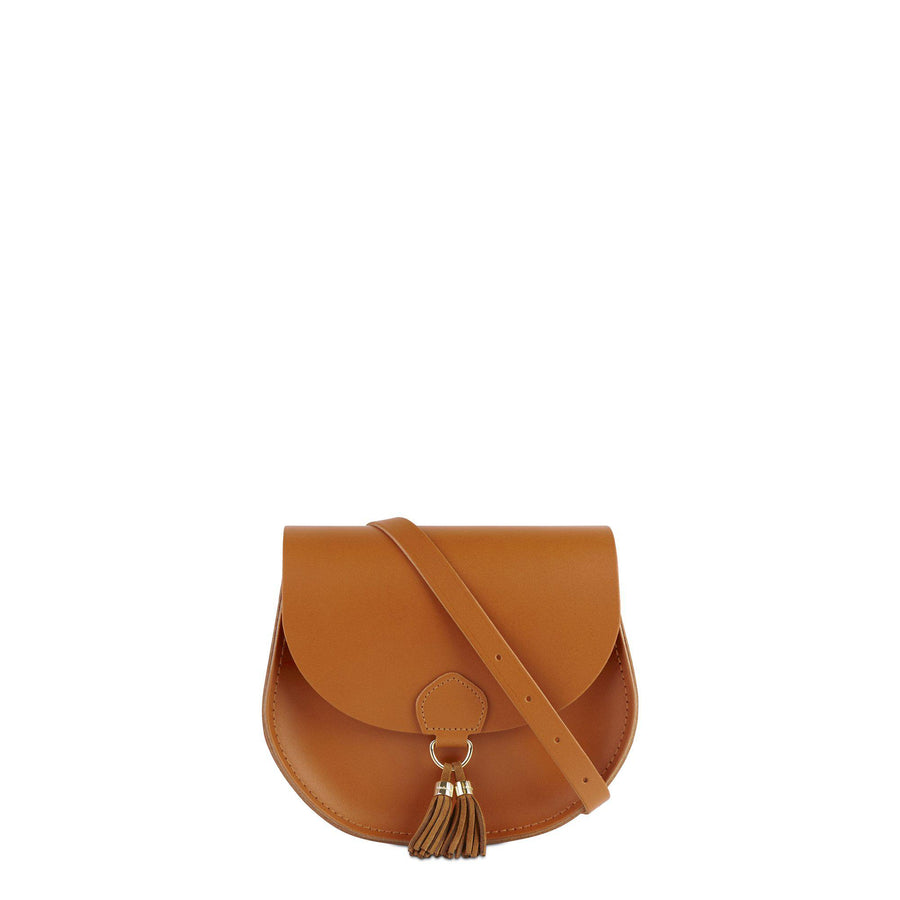 Tassel Bag in Leather - Canyon Split & Vintage Suede