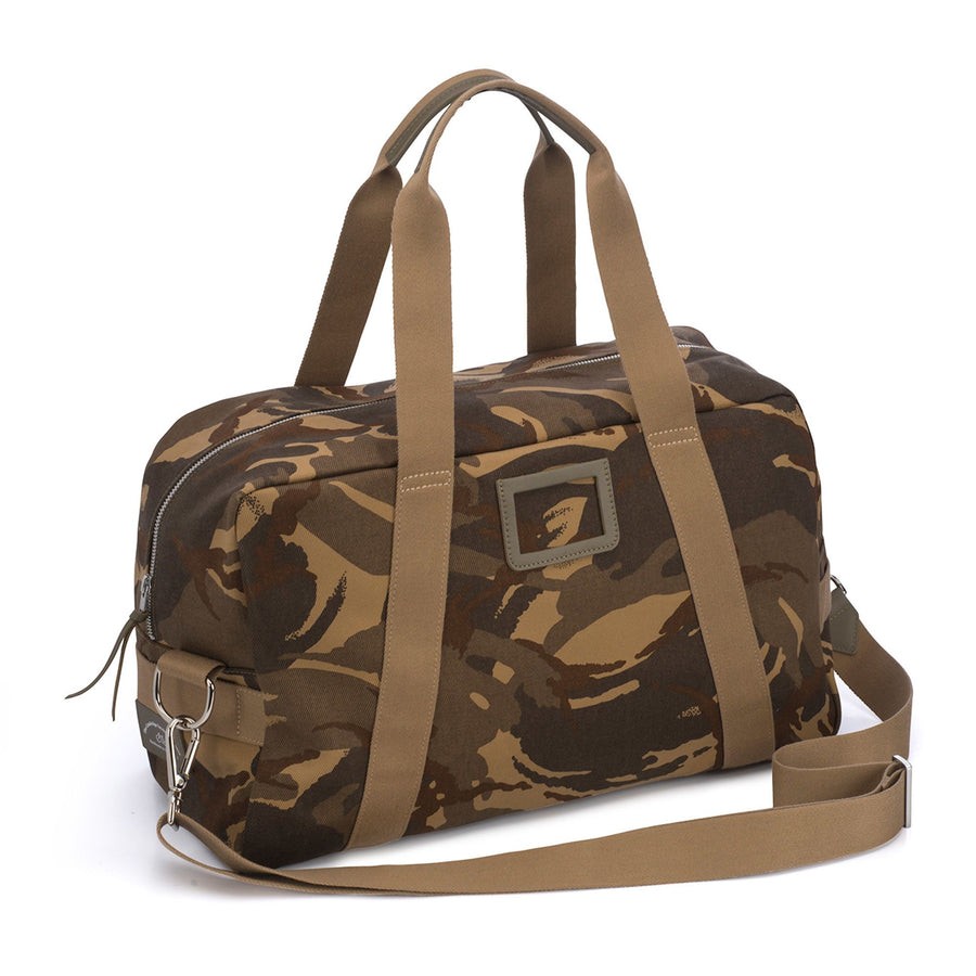 Canvas Weekend Bag - Camo