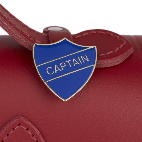 Captain Badge - Blue and Gold