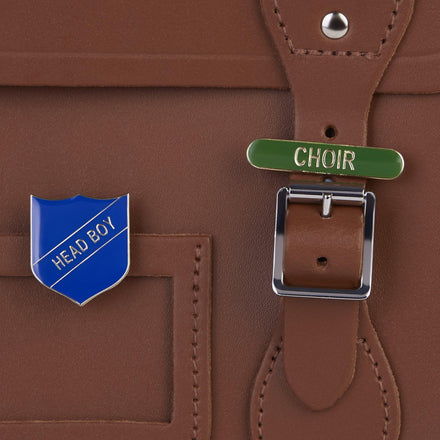 Choir Badge - Green - Cambridge Satchel