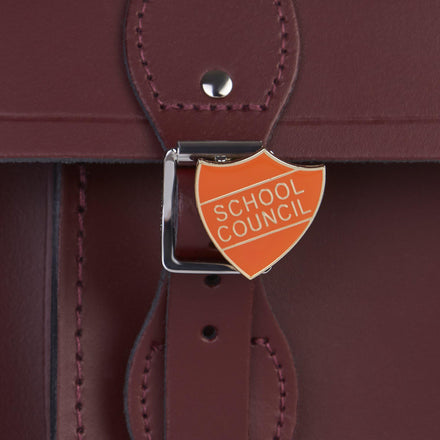 School Council Badge - Orange - Cambridge Satchel
