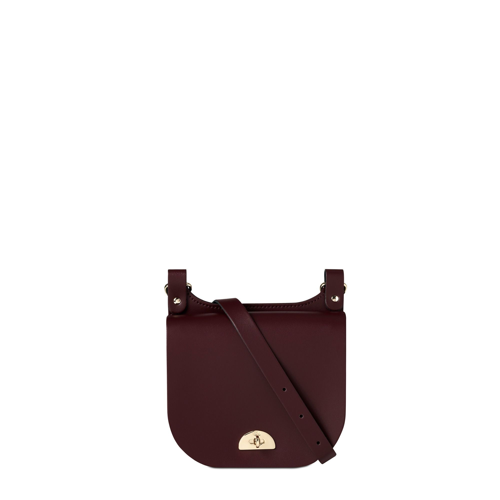 Small Conductors Bag in Leather - Oxblood