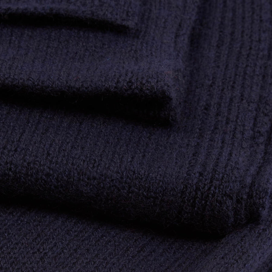 Cambridge Life Cashmere Scarf - Navy