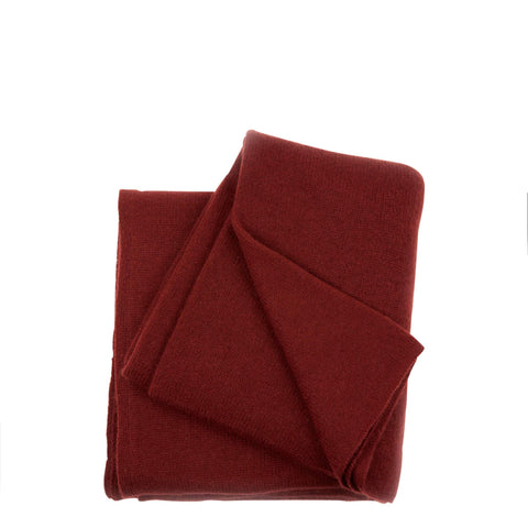Cambridge Life Cashmere Scarf - Oxblood
