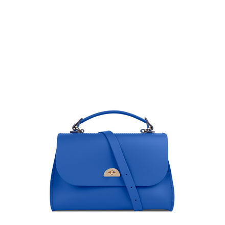 Daisy Bag in Leather - Electric Cornflower Matte | Cambridge Satchel