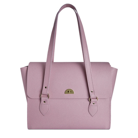 The Emily Tote - Light Lilac Celtic Grain