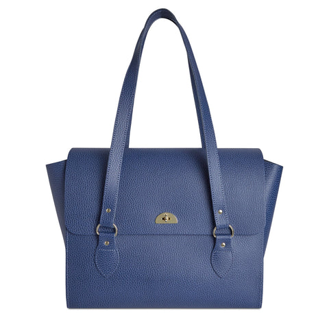 The Emily Tote - Italian Blue Celtic Grain