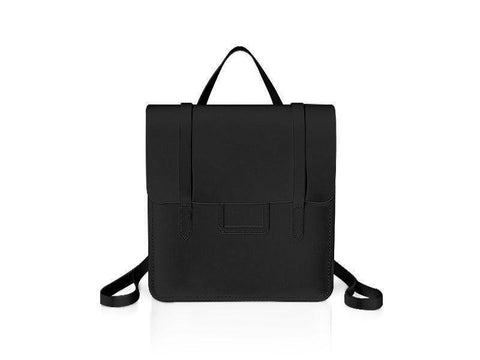 The Folio Backpack - Black