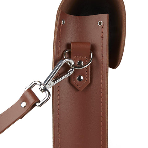 Folio in Leather - Saddle