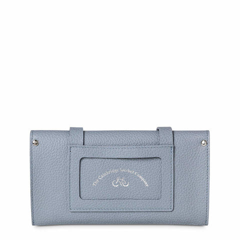 Peggy Purse in Grain Leather - French Grey Grain
