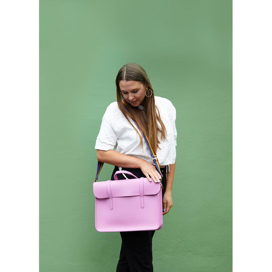 Womens- Violet Music Case The Cambridge Satchel Company