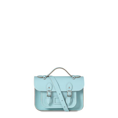 The University of Cambridge Mini Satchel - Cambridge Blue