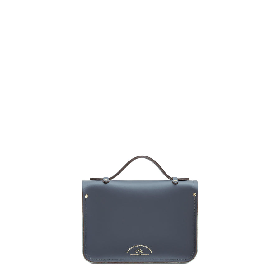 Mini Satchel in Leather - Storm Matte, Sea Foam Matte & Sandstone | Women's Handbag & Cross Body Bag