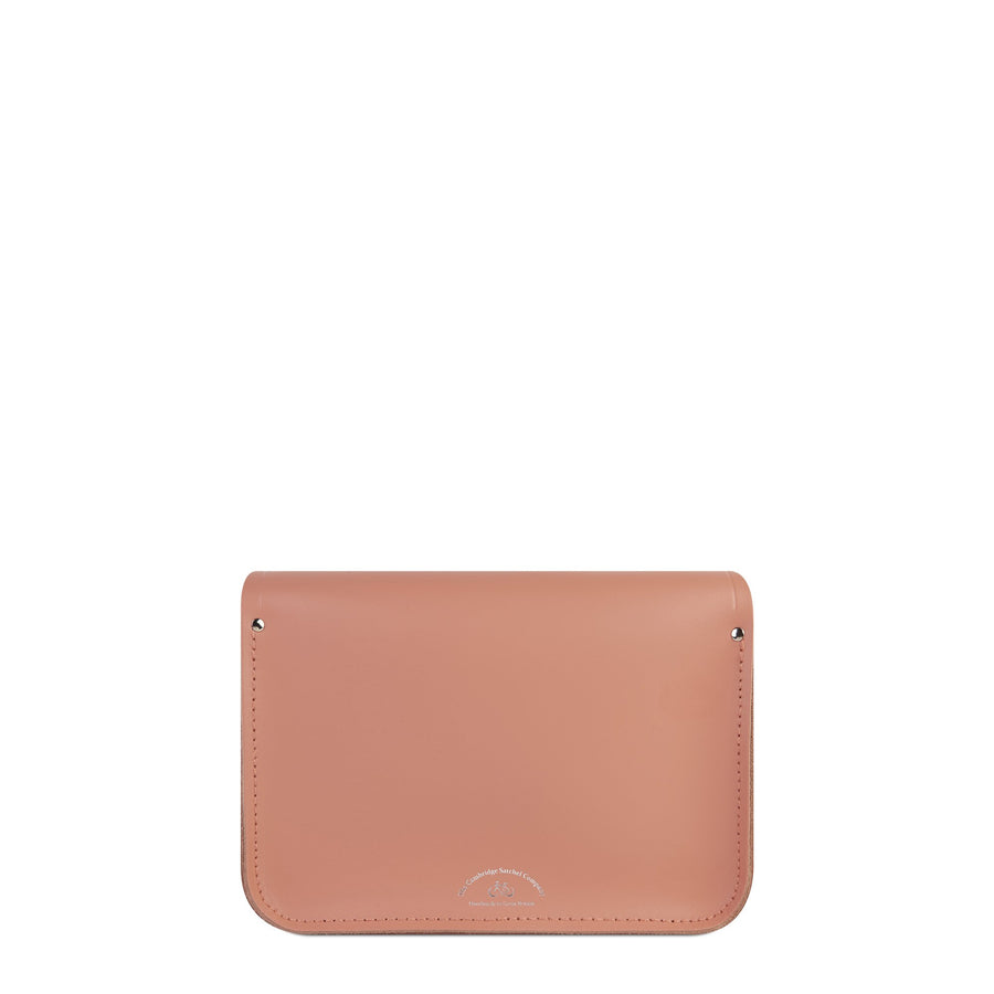11 inch Magnetic Satchel in Leather - Terracotta