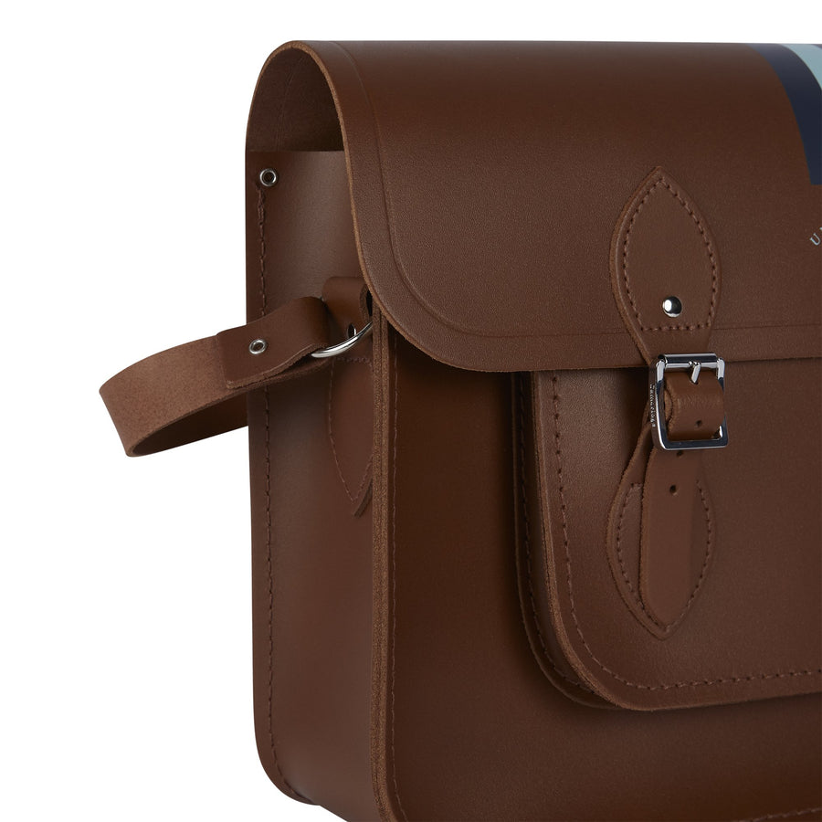 15 inch University of Cambridge Satchel in Leather - Vintage