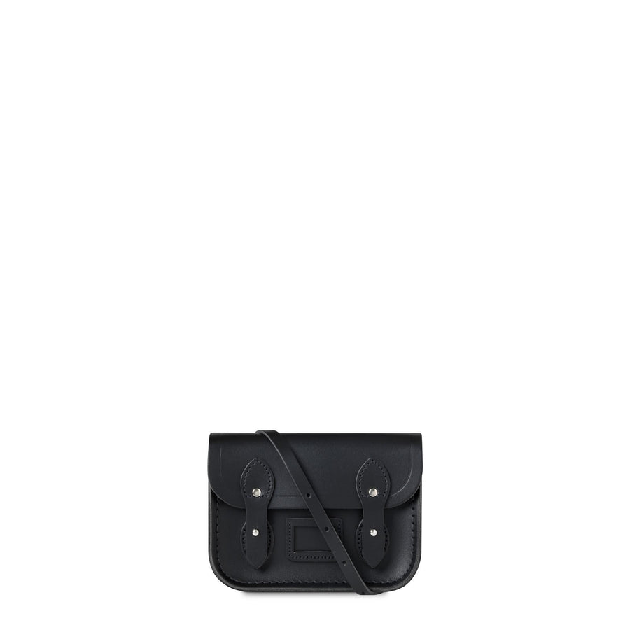 Tiny Satchel in Leather - Black