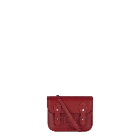 Tiny Satchel in Leather - Red 1914 Grain