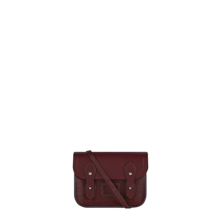 Tiny Satchel in Leather - Oxblood 1914 Grain