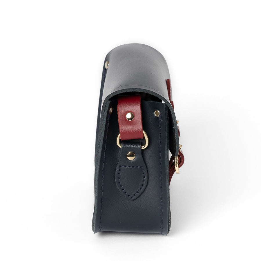 Year of the Ox Exclusive: The Little One in Leather - Navy & Pillar Box Red