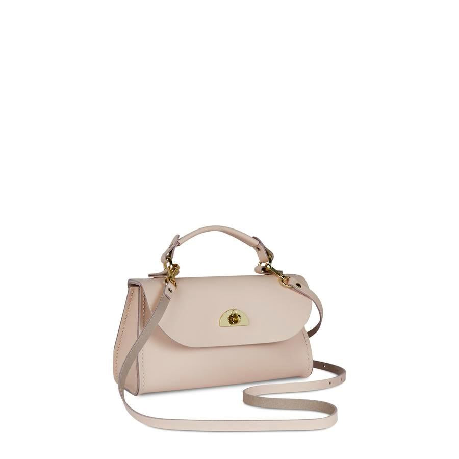 Mini Daisy Bag in Leather - Dreamy Peony Matte