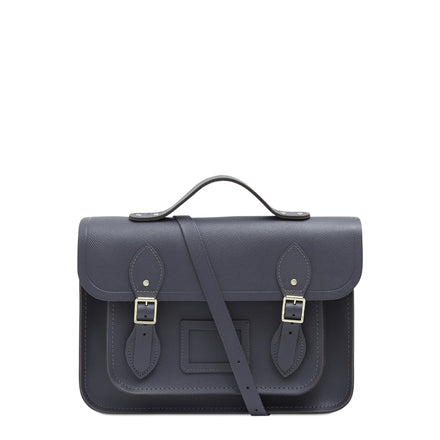 13 Inch Batchel with Magnetic Closure - Dapple Matte Saffiano | Unisex Satchel