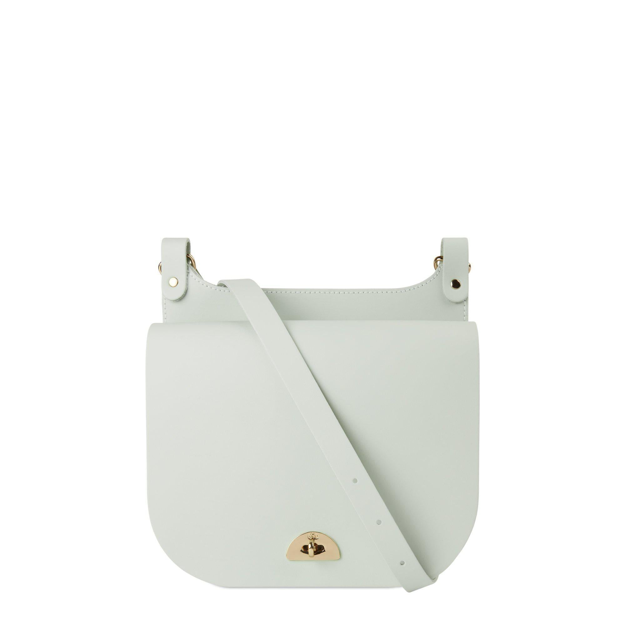 Conductors Bag in Leather - Matte Eggshell