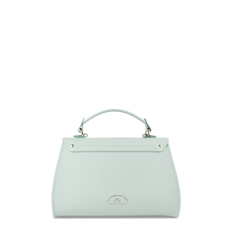 Daisy Bag in Leather - Sweet Pea Blue