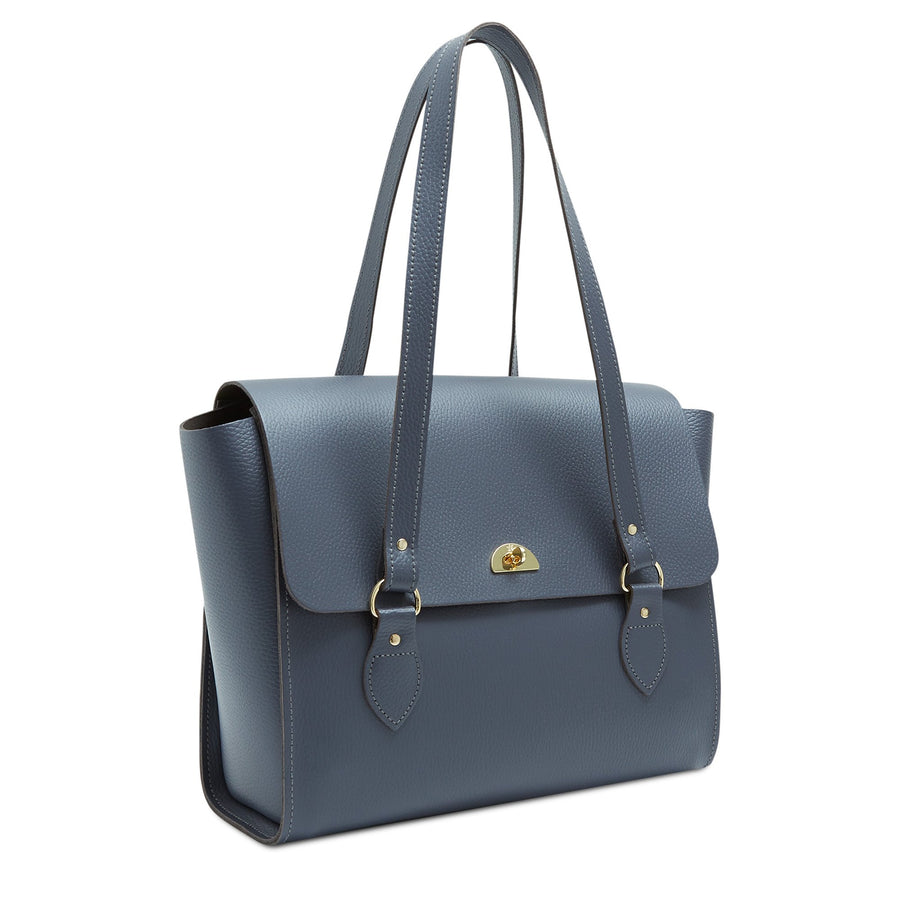 The Emily Tote - Storm Matte Celtic Grain | Women's Laptop & Work Bag