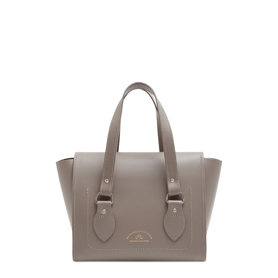 The Small Emily Tote - Mink | Women's Leather Handbag