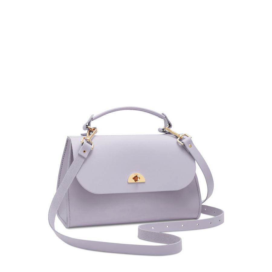 Daisy Bag in Leather - Parma Violet Matte