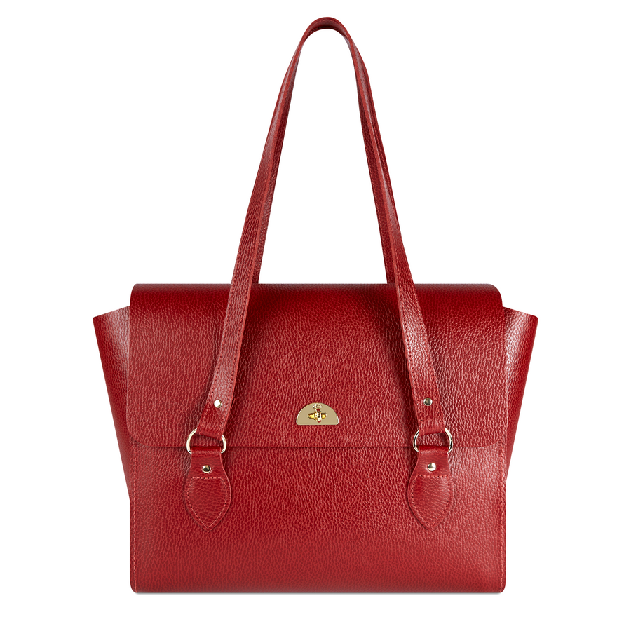 The Emily Tote - Red Celtic Grain | Cambridge Satchel