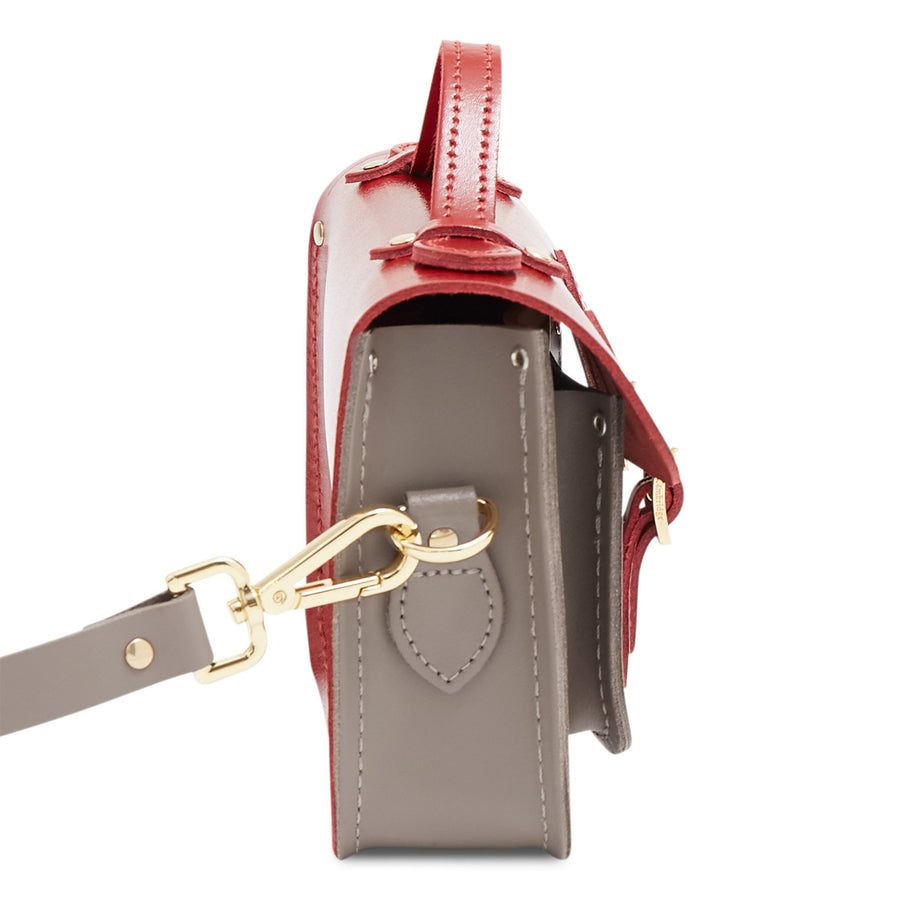 Magnetic Mini Satchel in Leather - Glamour & Mink | Women's Handbag & Cross Body