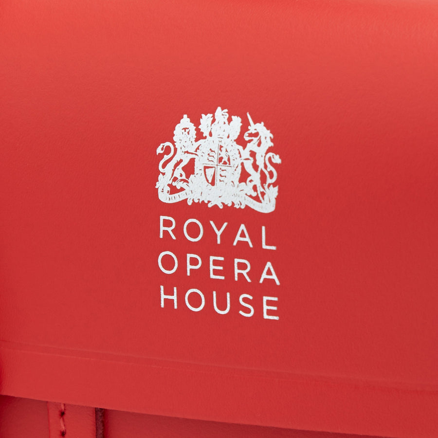 The Melody - Royal Opera House Red with ROH Logo in Silver Foil