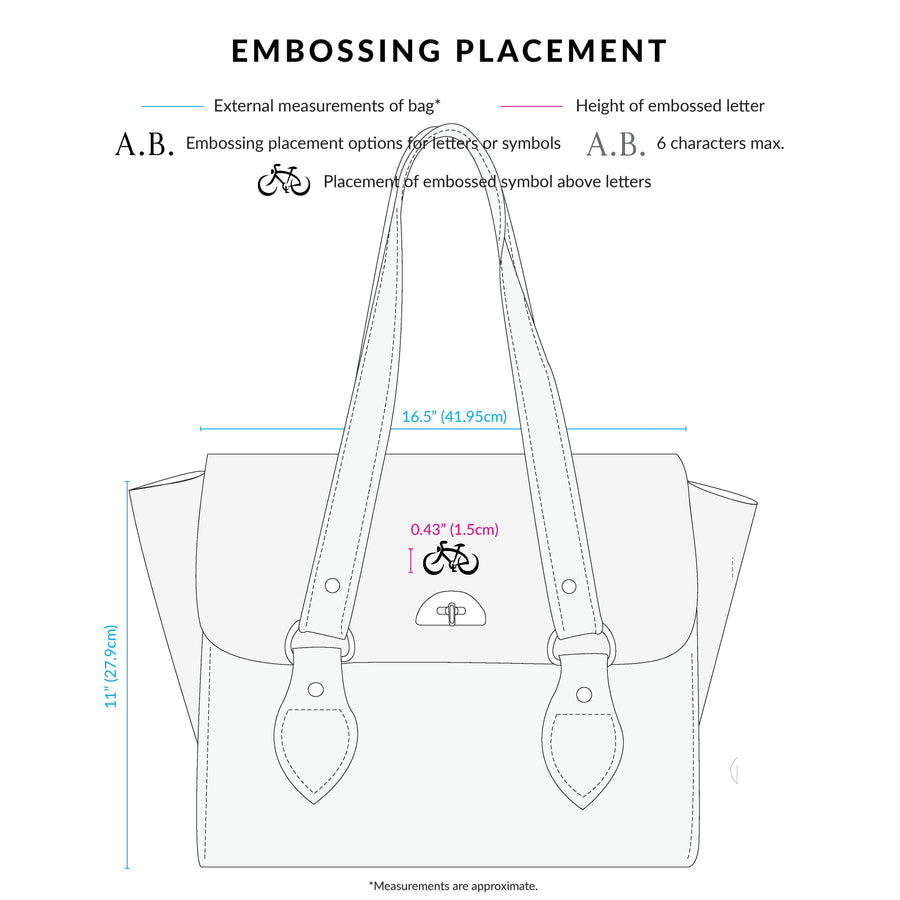 The Emily Tote - Rhubard Red Saffiano