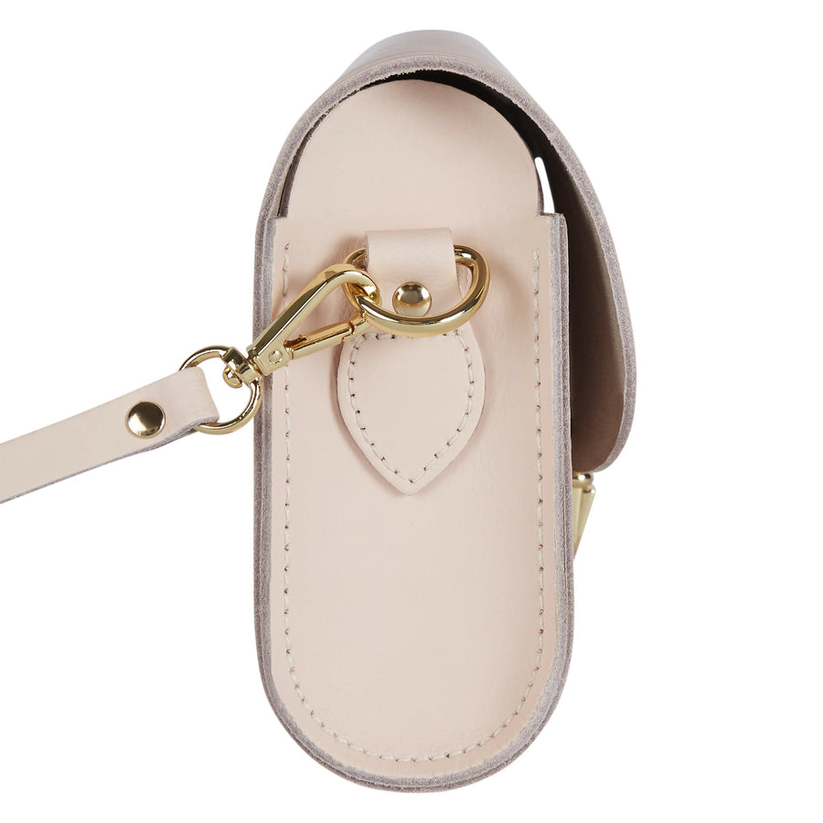 Push Lock in Leather - Cloud Pink Matte
