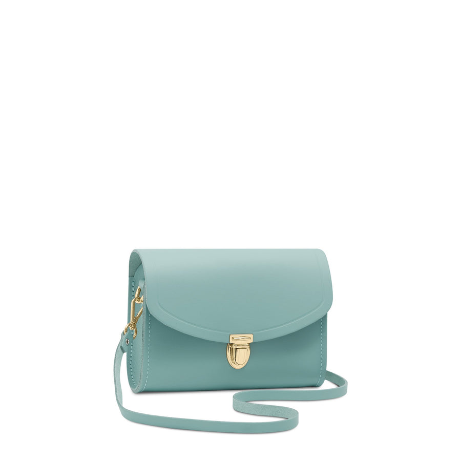 Push Lock in Leather - Brilliant Sage Matte | Cambridge Satchel
