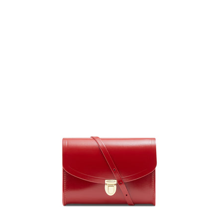 Push Lock in Leather - Glamour | Women's Clutch & Cross Body Bag